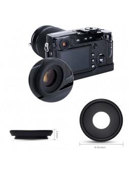 JJC EF-XPRO2G Black Rubber Eyecups (25.4mm) Eye Cup Eyepiece Viewfinder for Fujifilm X-Pro2