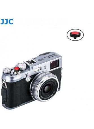 JJC SRB-BK Red Convex Metal Soft Release Button for Fujifilm Leica Cameras (BLACK Red)