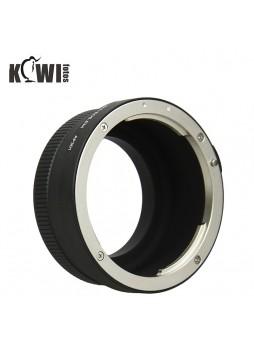 KIWIFOTOS CANON EOS EF lens metal ring to Sony converter NEX E-M A6000 , A7 Camera Body (LMA-EOS_EM)