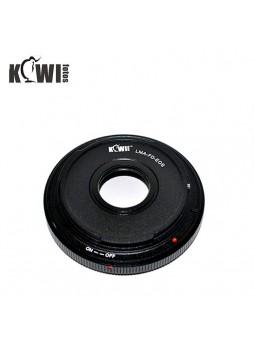 KIWIFOTOS Canon FD Lens to Canon EOS camera Convertor Adaptor (LMA-FD_EOS)