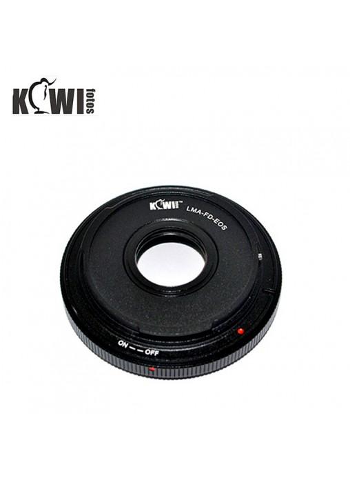 KIWIFOTOS Canon FD Lens to Canon EOS camera Convertor Adaptor (LMA
