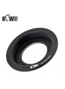 KIWIFOTOS Zeiss Pentax M42 Lens To Nikon Camera Body Mount Adapter ( LMA-M42_NK(O)
