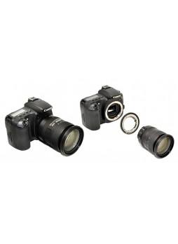 KIWIFOTOS Nikon F Lens ultra slim ring to Canon EOS DSLR camera converter ( LMA-NK_EOS(II)