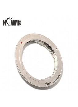 KIWIFOTOS Pentax K-Mount Lens to  Canon EOS DSLR camera Convertor Adaptor ( LMA-PK_EOS)