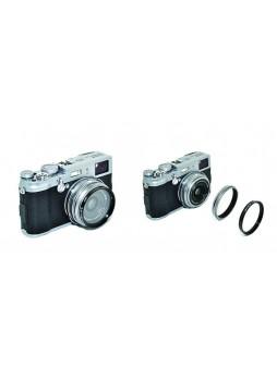 KIWIFOTOS LA-49X100 Adapter Ring for Fuji Fujifilm X100 X100s camera