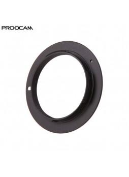 PROOCAM M42-NEX Converter Lens M42 lens to Sony E-Mount Camera