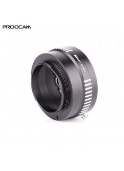 PROOCAM PK-NEX Converter Lens Pentax lens to Sony E-Mount Camera