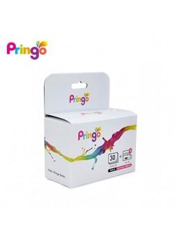 Pringo Photo Paper Printer And Ribbon (30 Sheet) (2X 3.4inch size photo)