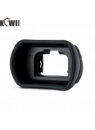 Kiwifotos KE-EP18L Camera Eyecup Large Extra Length for Sony a7 a7 II a7 III a7R a7R II a7R III a7R IV a7S II a58 a99 II a9 II Replaces FDA-EP18