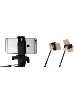 Proocam 6i Mobile Holder portrait and landscape for tripod monopod selfie stick