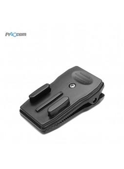 Proocam PRO-F219 360 Degree Rotary Quick Clip Mount For GoPro Miyi SJCAM Camera