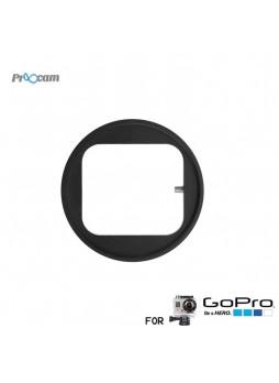 Proocam Pro-F027 Filter Convertor Shackle (52mm) for Hero 4  Black