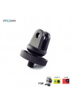 Proocam Pro-J060B Screw Tripod Mount Adapter converter to Gopro for SJCAM , MiYI , Sony Action Camera