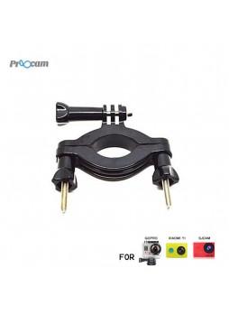 Proocam Pro-J065 Short Motorbike Roll Bar Mount for Gopro Hero , SJCAM , MiYI Action Camera (3.5-6.35cm)
