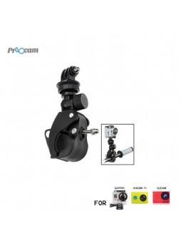 Proocam Pro-J073 Bike Mount with Tripod Adapter for Gopro Hero ,SJCAM , MI YI