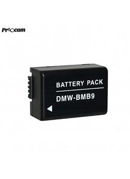 Proocam Viloso BMB-9E rechargeable battery for Panasonic Lumix DMC-FZ40 FZ45 FZ150 FZ10