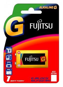 Fujitsu Alkaline G 9V Battery (6LF22(B)RU-GP)