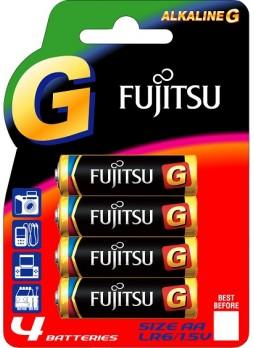 Fujitsu Alkaline Battery G AA 4pcs Pack  (LR6G(4B)EU2-F1)