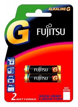 Fujitsu Alkaline G AAA Battery Pack (LR03G(2B)EU2-F1