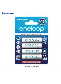 Panasonic Eneloop Rechargeable Battery AA 2000mah  (Pack of 4pcs ) -Made in Japan