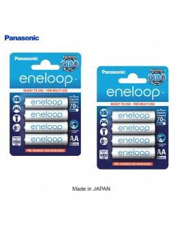 Panasonic Eneloop Rechargeable Battery AA 2000mah (Pack of 8pcs/2 Pack ) -Made In Japan
