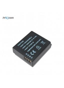 Proocam Panasonic Lumix DMW-BLG10 Battery Rechargeable for GF6 GX7 LX100 TZ80