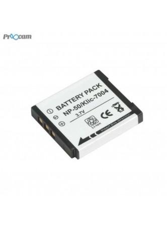 proocam NP-50 Fujifilm Battery F50FD F60FD F70EXR F75EXR F80EXR F85EXR F100FD F200EXR F300EXR W3 X10 X20 XF1