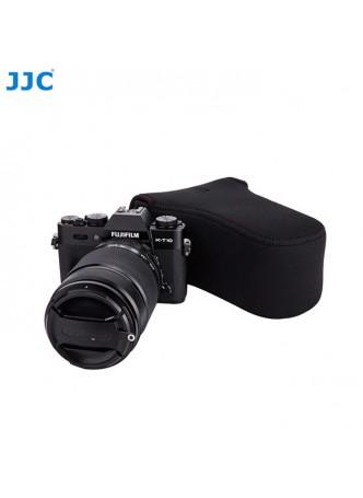 JJC OC-F3BK Black Neoprene Mirrorless Camera Case for Fujifilm XA-2 Xa-3 XT-10