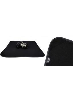 """JJC OZ-1BK Neoprene Black Square Protective Wraps 20 X 20"""" For Camera DSLR"""