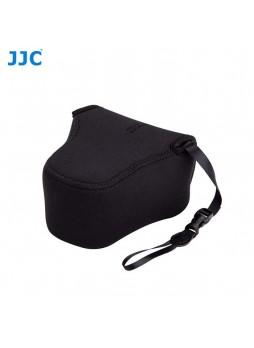 JJC OC-F2BK Black Neoprene Mirrorless Camera Case for Fujifilm Olympus Camera