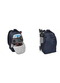 Manfrotto Travel Professional Camera DSLR And Lens Backpack (Blue)  MB NX-BP-V BU