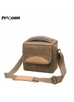 Proocam SDL-B Soudelor Sling Zip Travel Styler for Mirrorless Digital Camera -Brown