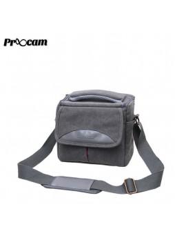Proocam SDL-G Soudelor Sling Zip Travel Styler for Mirrorless Digital Camera -Grey