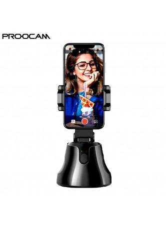 Proocam HP-600 Smart Shooting Selfie Stick Tripod Intelligent Follow 360° Rotation Face Object Tracking Smart AI Gimbal Photography Camera