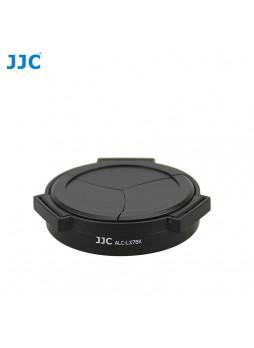 JJC ALC-LX7BK Self-Retaining Auto Open Close Len Cap Cover for Panasonic LX7 Lumix & Laica D-Lux 6