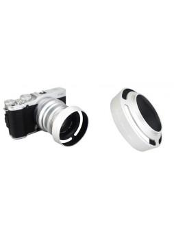 JJC LH-JXF35II lens hood For Fujifilm XF 35mm f/2 R WR Shade Silver
