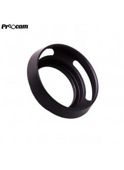 PROOCAM 77mm Metal Lens Hood Shade for Leica Nikon canon Fujifilm Olympus Lens Black (MLH-77B)