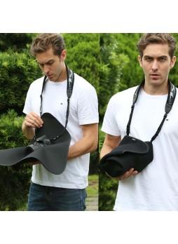 "JJC OZ-3BK 12 x 12"" Black Protective Wrap for Camera DSLR Nikon Canon Olympus Sony Fujifilm"