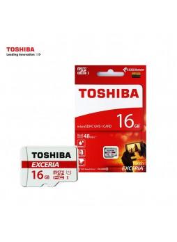 Toshiba 16GB Exceria M301 sdhc  Class 10 Memory Micro SD Card  (R48mb/s) THN-M301R0160A4