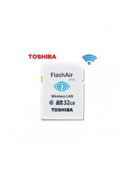 Toshiba FlashAir Wifi Card SDHC 32GB Class 10 Photo Memory card (Original Malaysia)