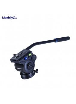Manbily VVB-50 Damping Fluid Tripod Head Hydraulic for Slider Monopod Camera Video Film (Load 15KG)