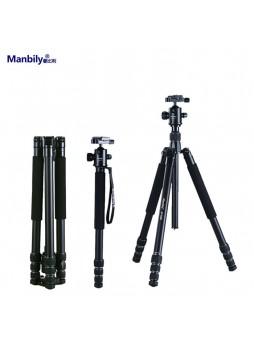 Manbily AT428K Professional Aluminium Portable Large folding tripod for Camera (Load 15KG)