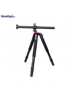 Manbily Tripod Camera Rocker Arm Low Angle Macro 4 section tripod (MPT-284)