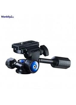 Manbily VH-40 Professional Camera Tripod Tilt Head Two-dimensional Pan Heads For Monopod Tripod