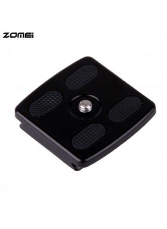 Zomei Quick release Plate for ZOMEI Q666 Professional travel tripod
