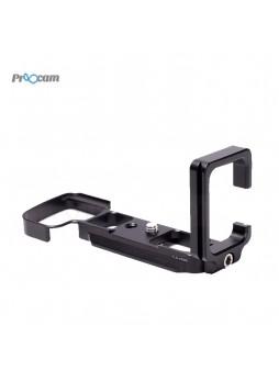 Proocam Sony A6300 Metal Quick Release L-Plate Bracket Hand Grip Arca-Swiss Mount