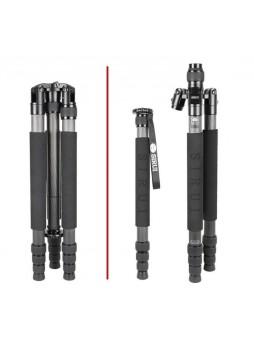 Sirui N-2204X Professioanl Carbon Fiber Tripod for Camera  (Max Load 15KG)