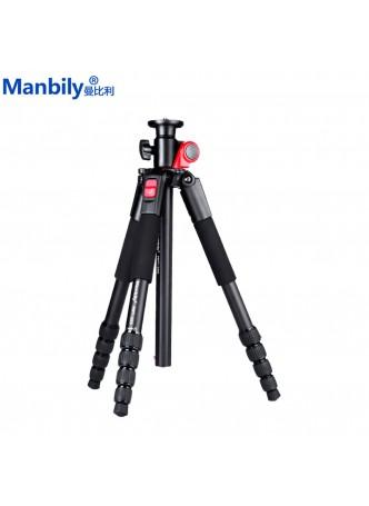 Mabily Tripod Camera Rocker Arm Low Angle Macro 5 section tripod (MPT-255) for DSLR Camera Nikon Canon Olympus