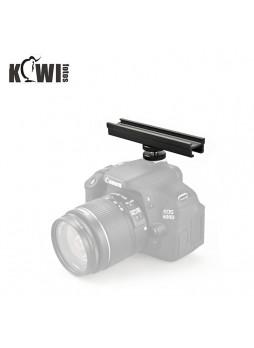 Kiwifotos CS-15 Cold Shoe Flash Extension Bar CS15 150MM for LED Mic etc DSLR Camera