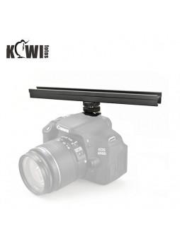 Kiwifotos CS-20 Cold Shoe Flash Extension Bar CS120 200MM for LED Mic etc DSLR Camera